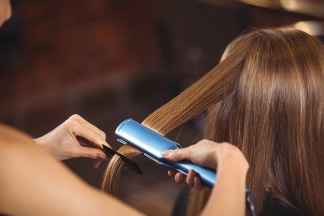 Технология кератинового выпрямления волос