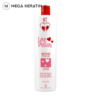 Кератин LOVE POTION REPAIR 1000 ml
