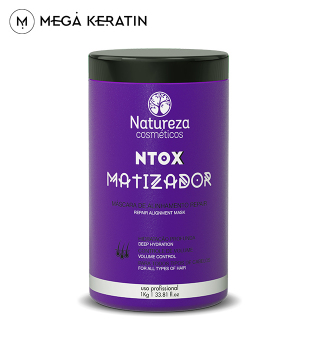 Ботокс для волос NATUREZA NTOX Matizador 1000 ml