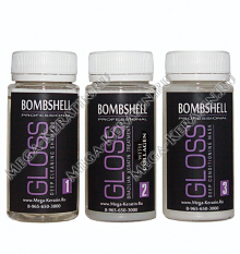 Пробный набор BOMBSHELL GLOSS COLLAGEN 3 x 100 ml