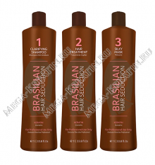 Комплект BRASILIAN HAIR SEDUCTION 3 x 1000 мл