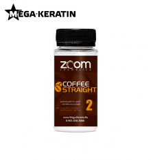 Пробник кератина ZOOM Coffee Straight 100 ml