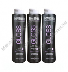 Комплект BOMBSHELL GLOSS COLLAGEN 3 x 500 ml