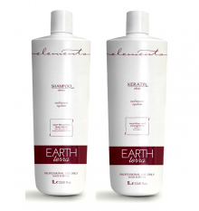 Комплект ELEMENTS Earth Elixir Keratin 2x1000 ml